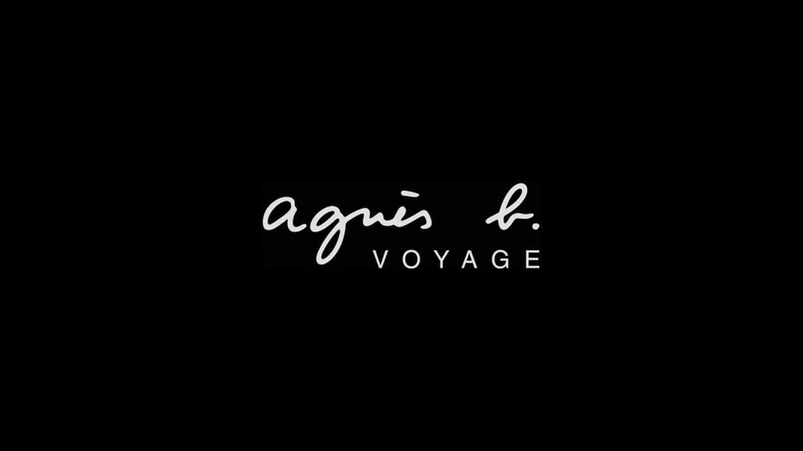 【agnes b. VOYAGE】大丸東京のカバー写真