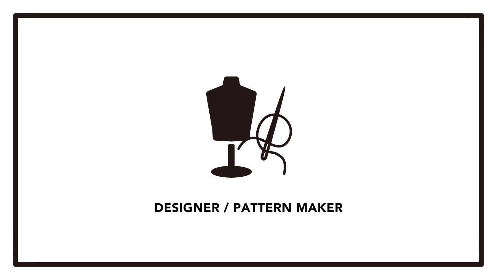 【パタンナー】急成長中のアパレルメーカー!シンプルで洗練された服が魅力のカバー写真