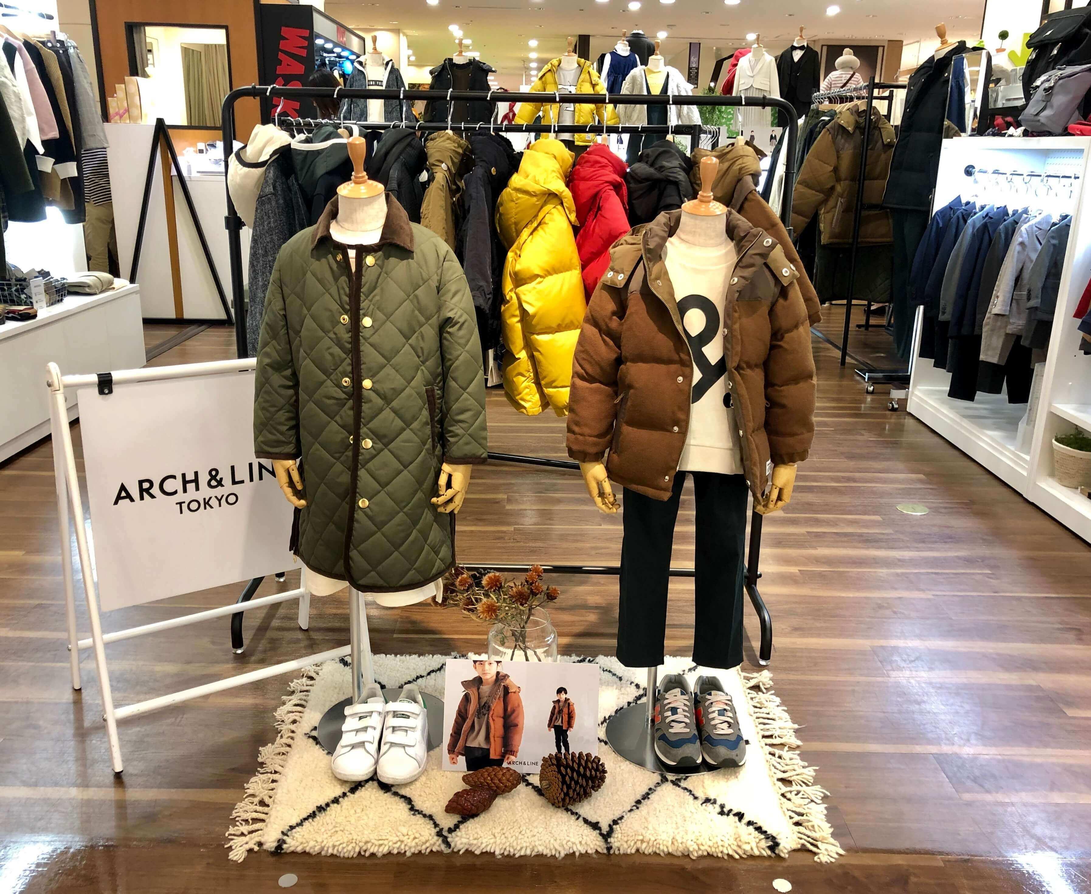 【子供服】ARCH&LINE 博多阪急 販売スタッフ募集のカバー写真