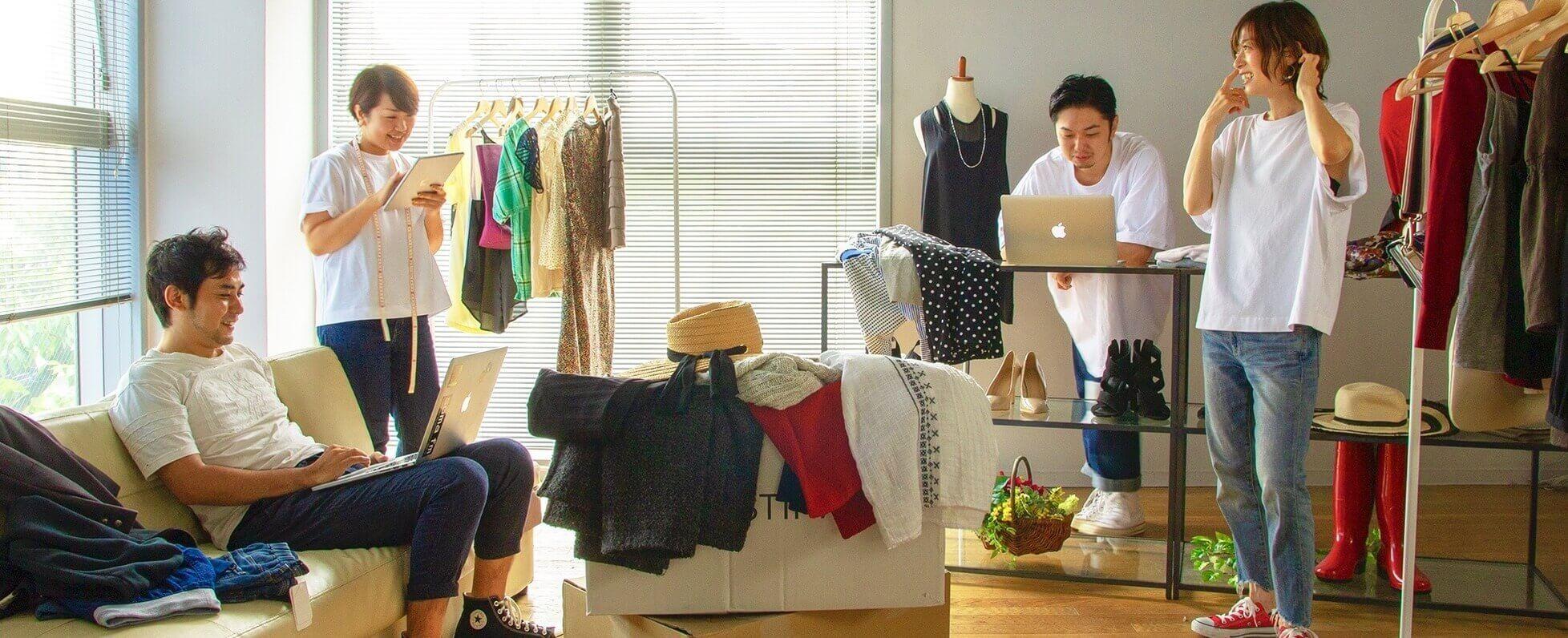 ファッションテック/フレックス,リモート歓迎、UIUXデザイナー募集!のカバー写真