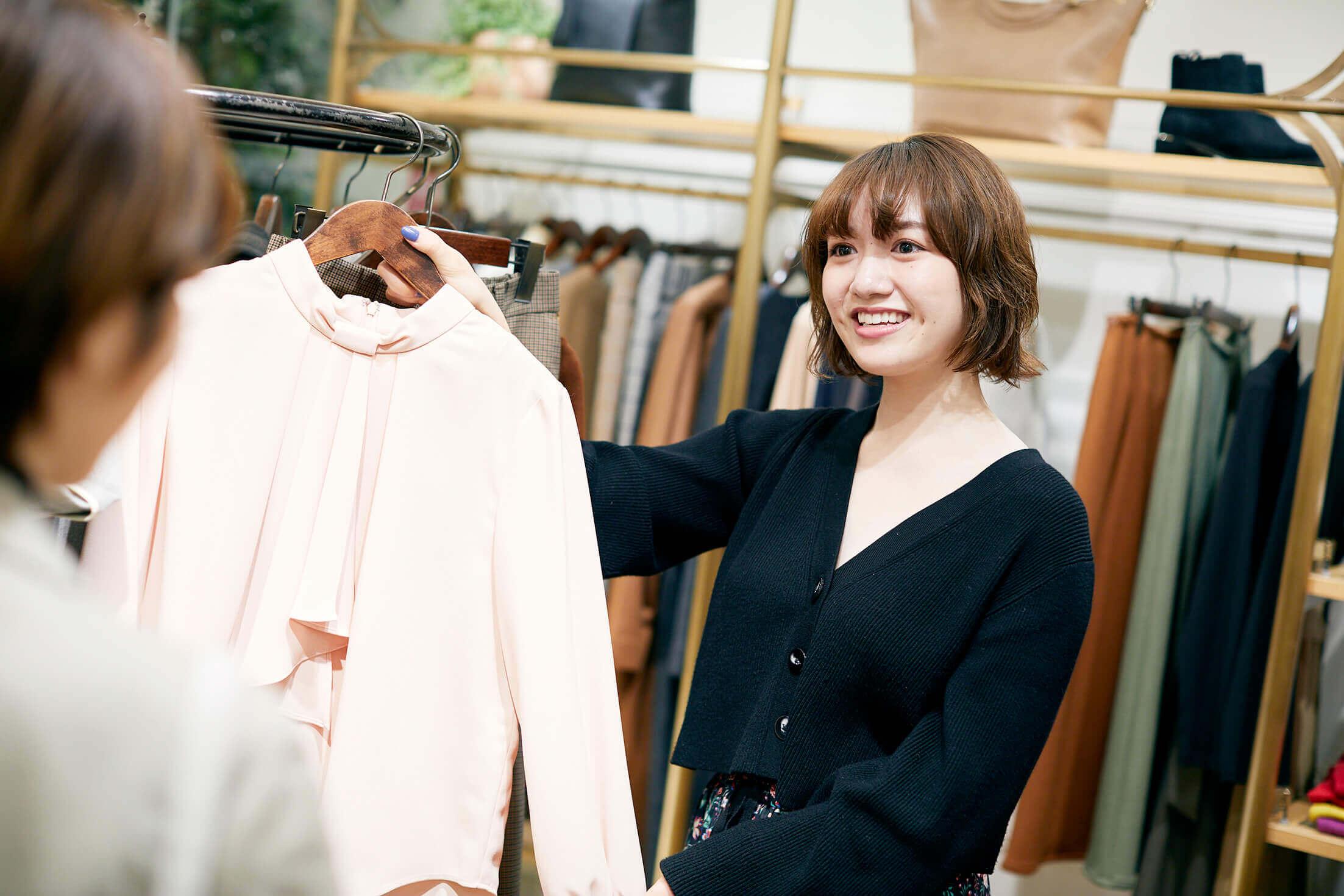 ★徳島★自分らしさを大切にした接客スタイルで働けるファッションアドバイザー募集のカバー写真
