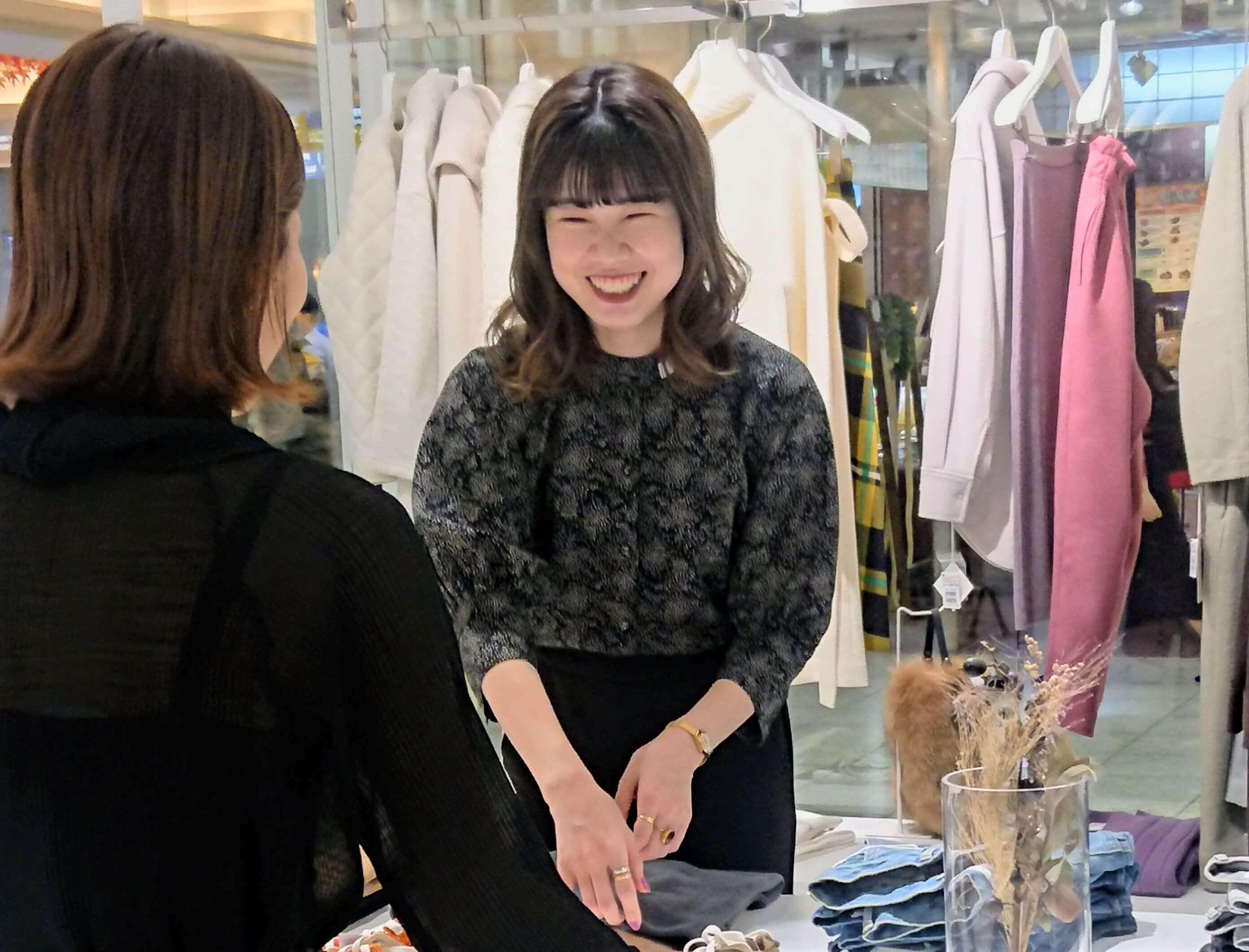 ★福岡★自分らしさを大切にした接客スタイルで働けるファッションアドバイザー募集のカバー写真