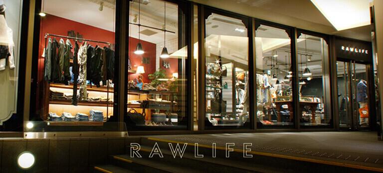 【銀座|RAWLIFE】ノージャンル、ノーエイジなMIXファッションのカバー写真