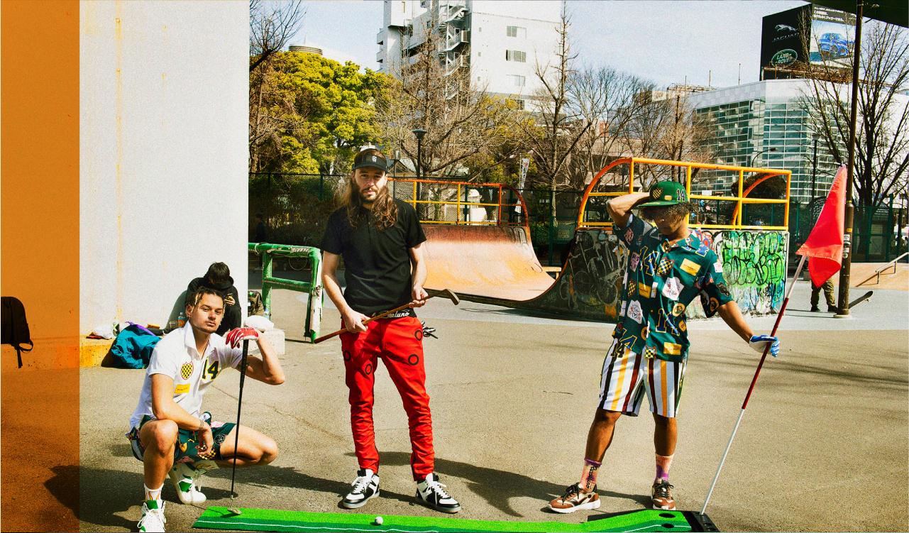ゴルフをストリートファッションへ!生産担当募集!東京のカバー写真