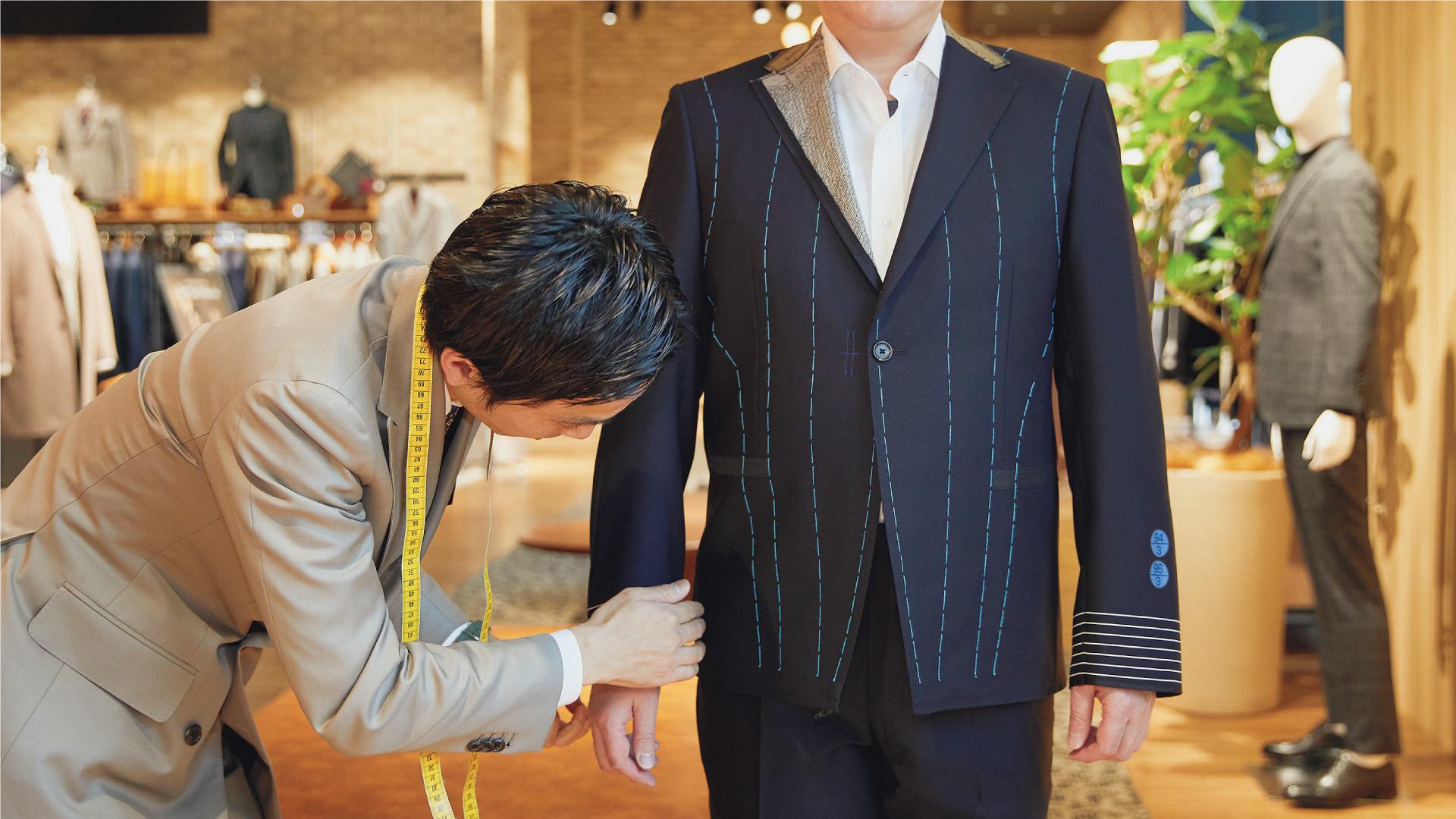 <ONLY>新宿マルイアネックス店でスーツコーディネーターとして活躍しませんか?のカバー写真