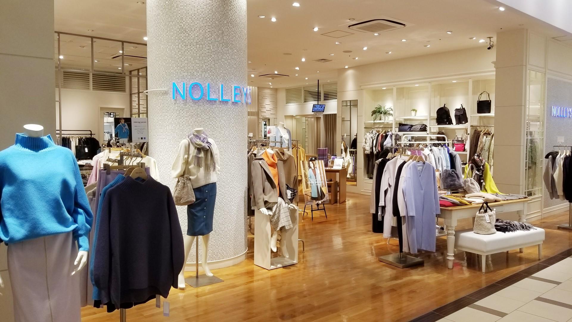 【NOLLEY'S】未経験歓迎の販売員の募集です!|正社員のカバー写真