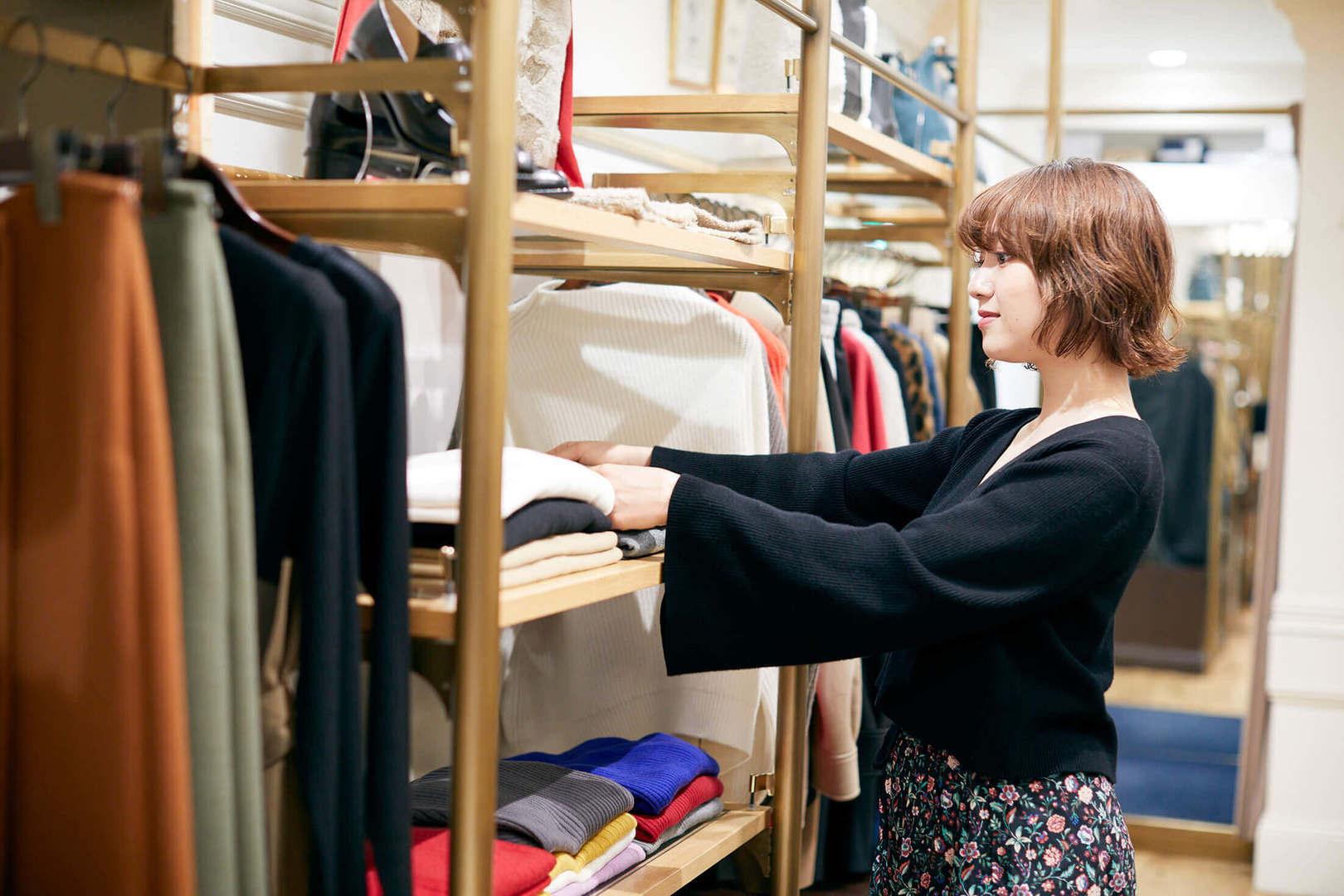 ★広島★自分らしさを大切にした接客スタイルで働けるファッションアドバイザー募集のカバー写真