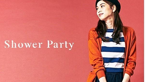 新宿〈時短・土日休みOKのショップスタッフ〉Shower Partyのカバー写真