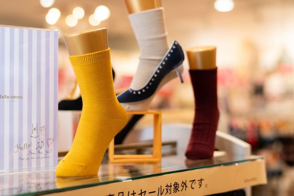 【チュチュアンナ】靴下のMDに携わるお仕事|大阪のカバー写真