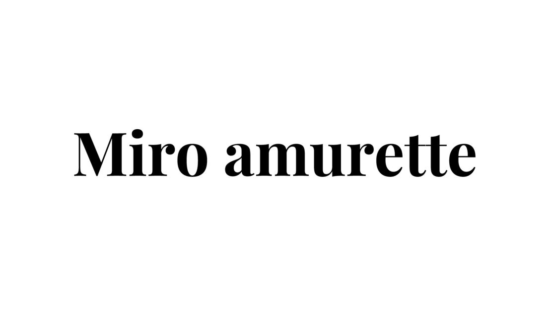 店舗開発担当者 SNS発D2Cブランド<Miro amurette>のカバー写真