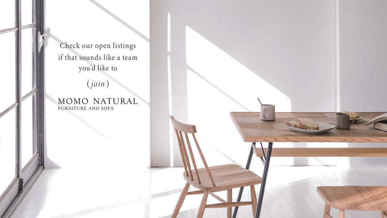 《正社員募集》MOMO NATURAL  ECサイトの企画・運営業務のカバー写真